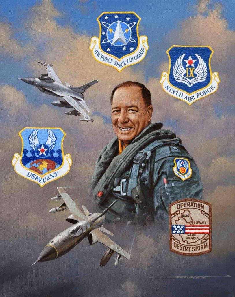 portrait of General Chuck Horner