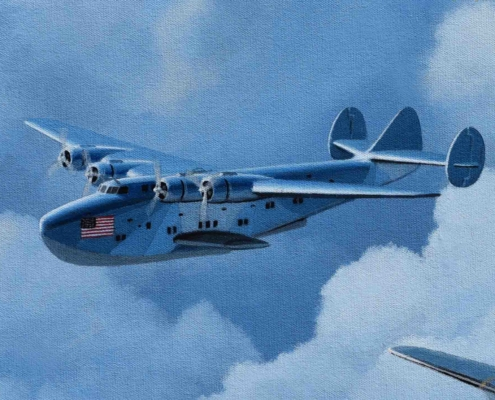 The Dixie Clipper former Pan Am Boeing 314.