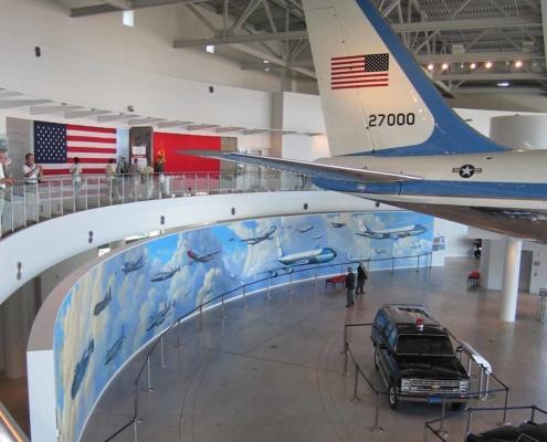 AF-1 Mural at the Reagan