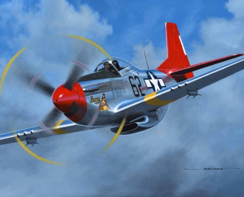 Bunny was Bob Pond's P-51. My first flight in it was in 1982!