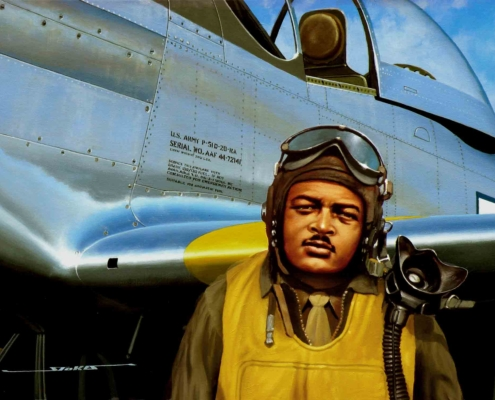 "Tuskegee Airman George ""Spanky"" Roberts"
