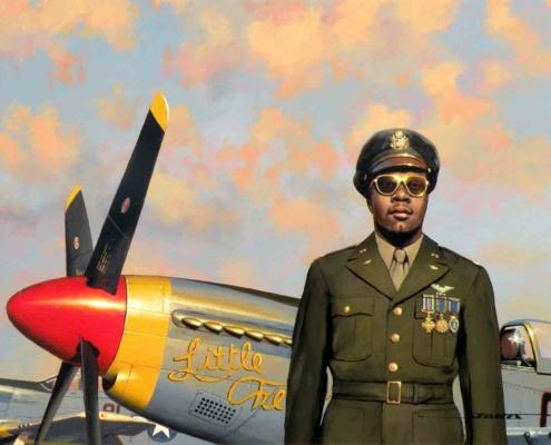 Tuskegee Airman Freddie Hutchens