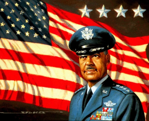 Tuskegee Airman Benjamin O. Davis, Jr.